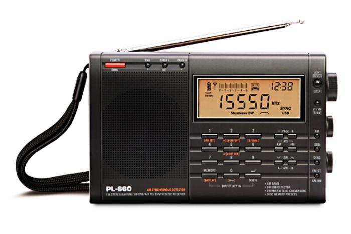 Tecsun PL-660, přehledový přijímač