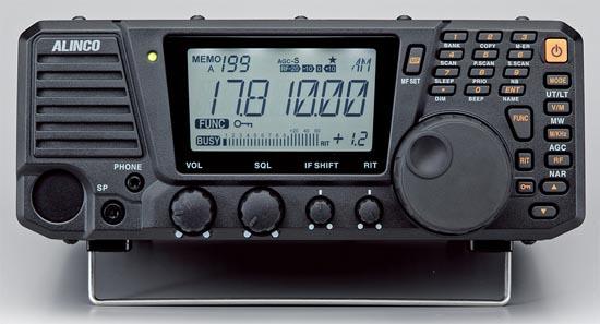 ALINCO DX-R8E ,all-mode přijímač 150KHz-35MHz , ROZBALENO