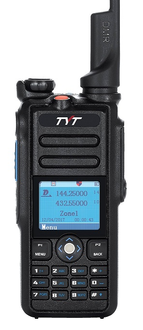 TYT MD-2017, dual-band DMR!