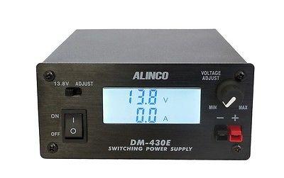 ALINCO DM-430E , kompaktní spínaný zdroj 13,8V, 25/30A