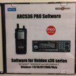 Software ARC536 PRO pro Uniden UBCD3600XLT