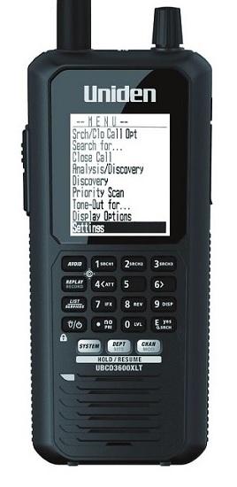 UNIDEN UBCD 3600XLT , ruční digitální přijímač