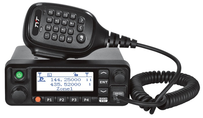 TYT MD-9600, vozidlový dual-band DMR!