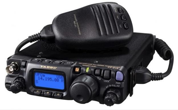 YAESU FT-818ND , 6W TRX pro HF/VHF/UHF