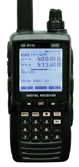 AOR AR-DV10, ruční digitální přijímač 0,1-1300MHz