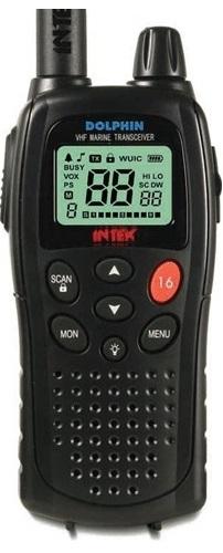 INTEK DOLPHIN, ruční VHF MARINE stanice