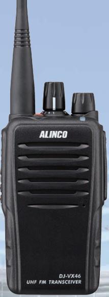 ALINCO DJ-VX46 , profi PMR446, 16 kanálů, IP67