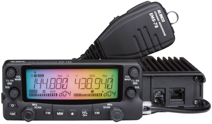 ALINCO DR-735, dual-band VHF/UHF 50W