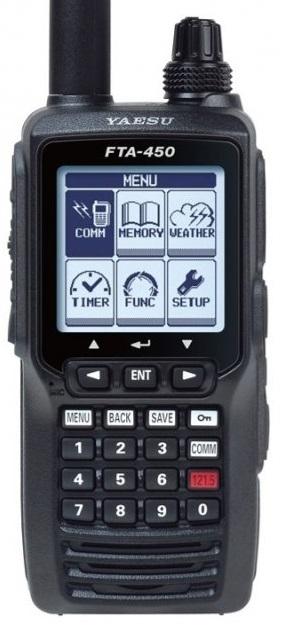 YAESU FTA-450L , ruční AIRBAND radiostanice