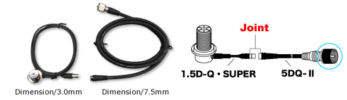 SLN-200 , anténa strana, konektor N, 200 cm