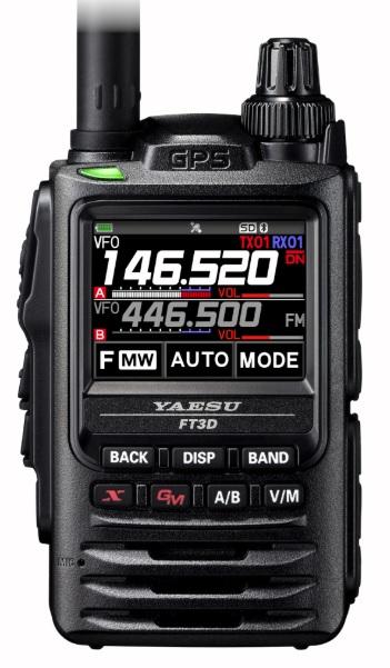 YAESU FT-3DE, digitální radiostanice 144/430MHz