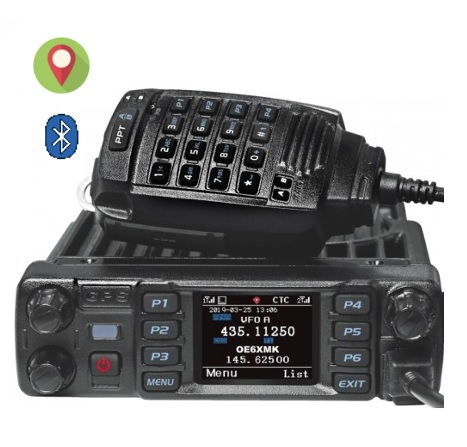 ANYTONE AT-D578UV PRO , DMR dual-band s Bluetooth a GPS