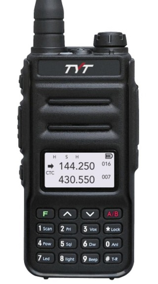 TYT TH-UV88 , dual-band VHF/UHF