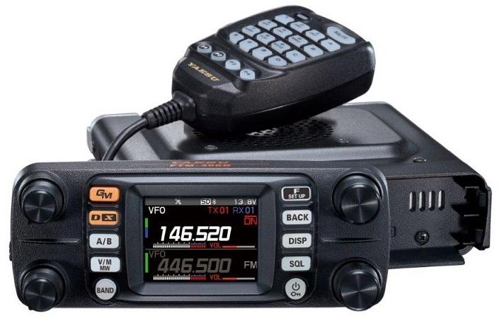 YAESU FTM-300DE , FM/C4FM VHF/UHF mobilní transceiver 50W
