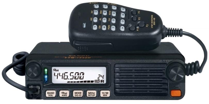 YAESU FTM-7250DE , FM/C4FM VHF/UHF mobilní transceiver 50W