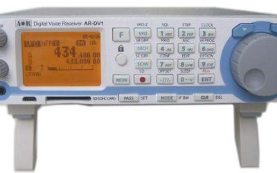 AOR AR-DV1, digitální přijímač